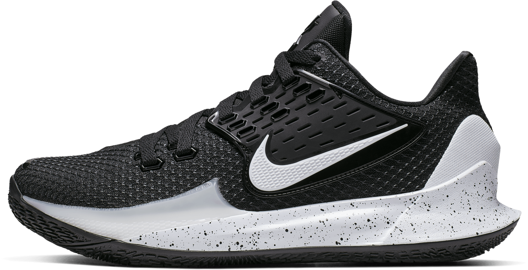 kyrie low all black