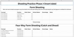Masterclass Shot Tracker